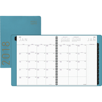 At-A-Glance Contemporary Fashion 12 Month Planner, 9 x 11 Inches, Teal Item Number 1586009