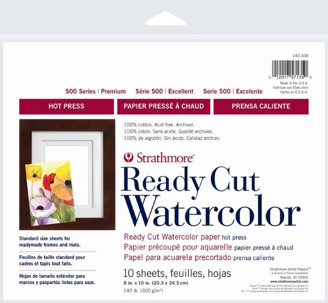 Watercolor Paper, Watercolor Pads, Item Number 1588327