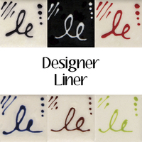 Mayco Designer Liner, Assorted Colors, Set of 6 Item Number 1589253