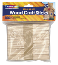 Creativity Street Craft Sticks, Natural Color, Pack of 150 Item Number 1589972