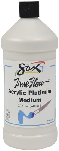 Sax True Flow Acrylic Medium,Quart, Platinum Item Number 1590503