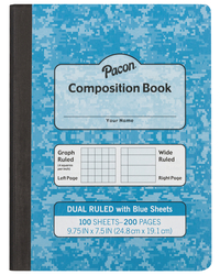 Composition Books, Composition Notebooks, Item Number 1591012