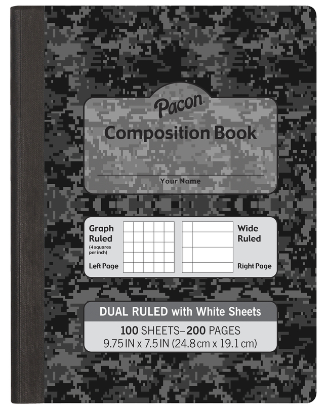 Composition Books, Composition Notebooks, Item Number 1591015