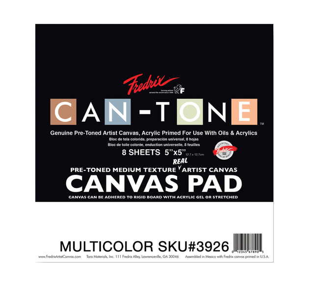 Canvas Pad, Item Number 1591271