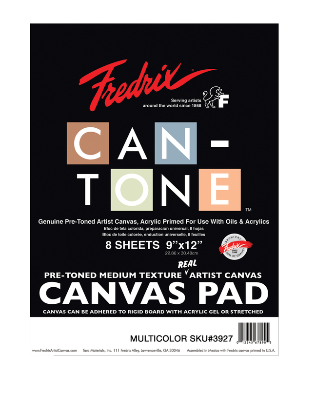Canvas Pad, Item Number 1591272
