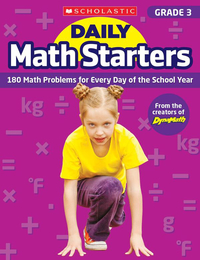 Scholastic Daily Math Starters, Grade 3 Item Number
