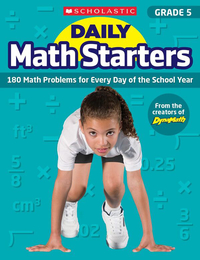 Scholastic Daily Math Starters, Grade 5 Item Number