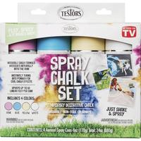 Rust-Oleum Spray Chalk Set, Assorted Colors, Item Number 1592574