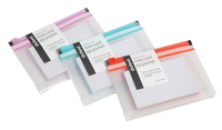 Oxford at Hand Note Card Zip Pocket, includes 50 Dot Grid Cards, 3 x 5 inch, Assorted Colors Item Number