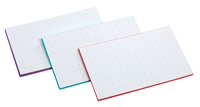 Oxford Dot Grid Index Card, 3 x 5 Inches, Assorted Colors, Pack of 50 Item Number