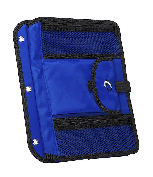 Case-it 5-Tab Expanding File Insert, Blue
