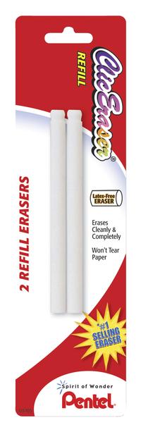Pentel Clic Eraser Refills, Pack of 2 Item Number