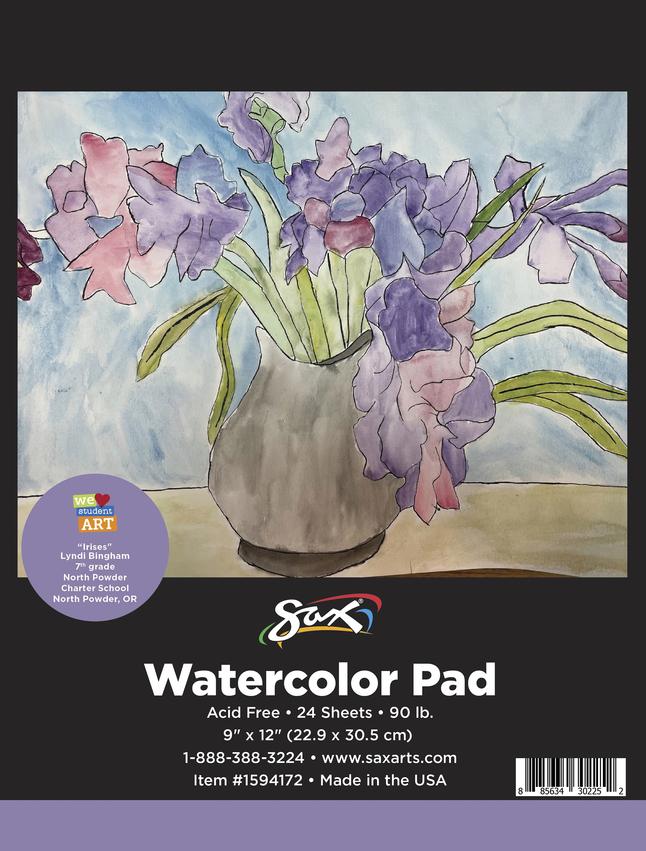 Watercolor Paper, Watercolor Pads, Item Number 1594172