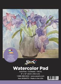 Watercolor Paper, Watercolor Pads, Item Number 1594175
