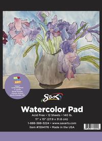 Watercolor Paper, Watercolor Pads, Item Number 1594176