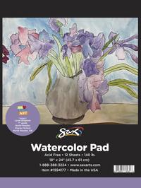 Watercolor Paper, Watercolor Pads, Item Number 1594177