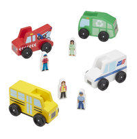 Melissa & Doug Community Vehicles, 8 Pieces Item Number 1594191