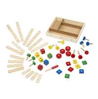 Melissa & Doug Construction Set in a Box, 48 Pieces Item Number 1594198