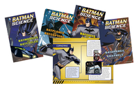 DC Comics Super Heroes Batman Science Books, Set of 4 Item Number