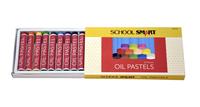 School Smart Oil Pastels, Set of 12 Item Number 1594963