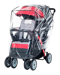 Image for Foundations Duo Sport Rain Cover - Transparent from School Specialty