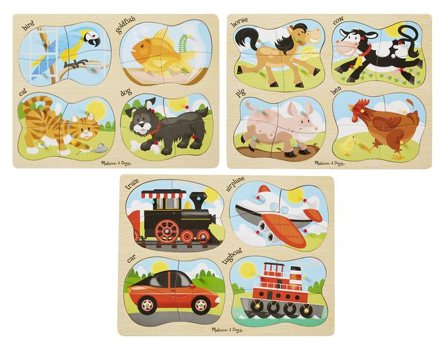 Early Childhood Chunky Puzzles, Item Number 1596409