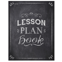 Lesson Plan Books, Item Number 1596802