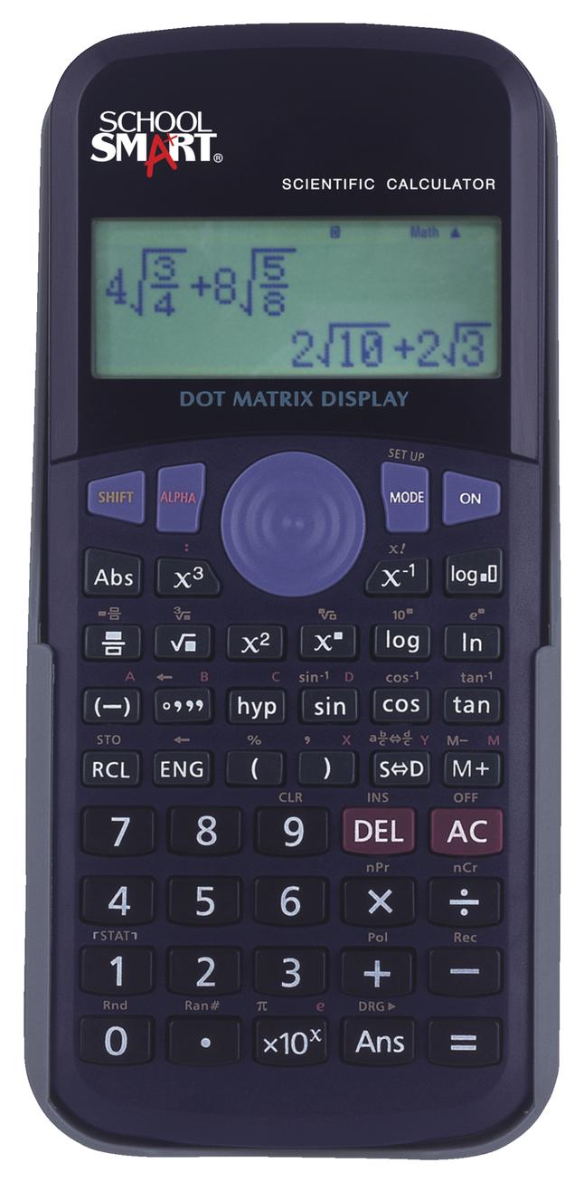 Calculators from School Specialty