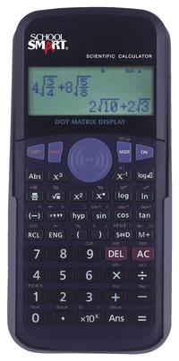 School Smart Scientific Digit Calculator, Black Item Number