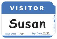 Name Badge Labels, Item Number 1597249