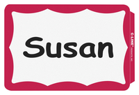 Name Badge Labels, Item Number 1597251