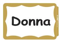 Name Badge Labels, Item Number 1597253