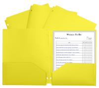 2 Pocket Folders, Item Number 1597264