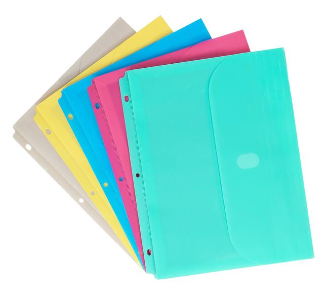 Binder Pockets and Envelopes, Item Number 1597292