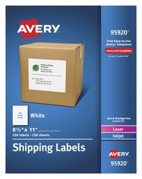 Shipping Labels, Item Number 1597360