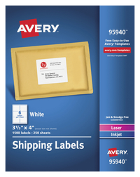Shipping Labels, Item Number 1597363