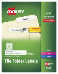 File Folder and File Cabinet Labels, Item Number 1597366