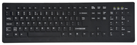 TG3 Electronics Totally Cleanable Keyboard, 104 Key, USB Item Number 1597459