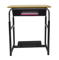 Image for Classroom Select (R) Royal 1600 Switch (TM) Sit or Stand Desk with Fidget Pedal, Laminate Top, LockEdge, Various Options from School Specialty