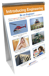 Image for NewPath STEM Engineering Design Process Flip Chart Set, Grades K-2 from School Specialty