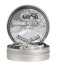 Crazy Aarons Crystal Clear Thinking Putty, Liquid Glass Item Number 1599239