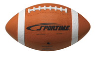 Sportime Gradeball Official Regulation Size Rubber Football, Traditional Tan Item Number