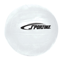 Sportime GradeBall Rubber Volleyball, White Item Number