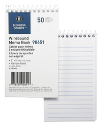 Memo Notebooks, Item Number 1600307