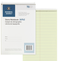 Steno Pads, Steno Notebooks, Item Number 1600308