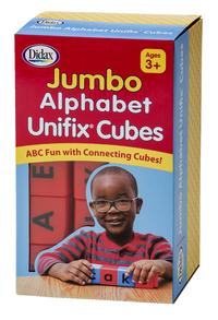 Didax Jumbo Unifix Alphabet Cubes, Set of 30 Item Number 1603441
