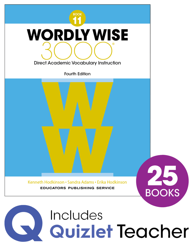 Image for Wordly Wise 3000 4th Edition Grade 11 Class Refill Set from School Specialty