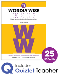 Image for Wordly Wise 3000 4th Edition Grade 12 Class Refill Set from School Specialty