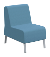 Classroom Select Soft Seating NeoLink Armless Chair, 23 x 32 x 34 Inches, Various Options Item Number 1605241