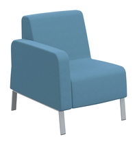 Classroom Select NeoLink Soft Seating Right Arm Only Chair, 27-1/2 x 32 x 34 Inches, Various Options Item Number 1605245